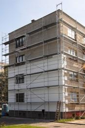 Zateplení fasády vč- rekonstrukce balkonů