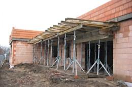 Výstavba bytového domu  – Viladům Kluky Hradec Králové 007