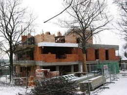 Výstavba bytového domu  – Viladům Kluky Hradec Králové 009