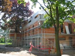 Výstavba bytového domu  – Viladům Kluky Hradec Králové 011